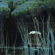 Der Freischütz, Gärtnerplatztheater Regie: Beverly Blankenship Bühne: Heinz Hauser Licht: Rolf Essers Videodesign: Raphael Kurig © Hermann Posch