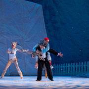 Peter und der Wolf, Gärtnerplatztheater Regie: Emanuele Soavi Bühne: Rainer Sinell Videodesign: Raphael Kurig, Thomas Mahnecke