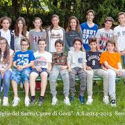 CLASSE II A - Scuola Secondaria anno scolastico 2014/2015