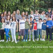 CLASSE I A - Scuola Secondaria anno scolastico 2014/2015