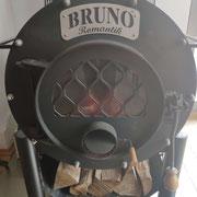 Dank Bruno war es im Shop angenehm warm!