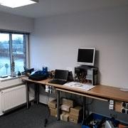 Werkbank auf der wir Computer reparieren