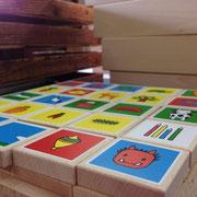 あいうえおつみき×NOKUBI日本国内製造 最高木製知育玩具
