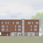 Wohn-Bürogebäude | 24 WE mit Tiefgarage | Energieeffizienz KfW 55 | Norderstedt | 2017