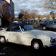 Mercedes 190SL de Hubert