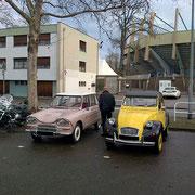 Citroën Ami6 et 2CV