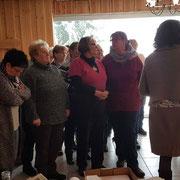 Heide und Renate bei der Bezirksarbeitstagung 2018