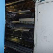 Das ist eine der Druckerpressen.