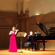 Ginza Oji Hall, Midori Komachi (Violin) Simon Callaghan (Piano)