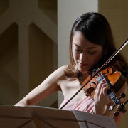 Hosokawa: Spell for Solo Violin. Hosokawa 60th Anniversary Concert  Photo: Kaz Ishikawa
