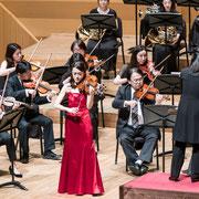 Beethoven Violin Concerto Photo: Taira Nishimaki  杉並公会堂、アンサンブル・フォルツァ・ウーノ