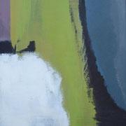 """""""Sichtfelder II""""    70cm x 50cm, Acryl auf Pappe, 2013"""