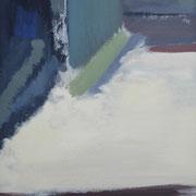 """""""Sichtfelder VI""""    70cm x 50cm, Acryl auf Pappe, 2013"""