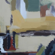 """Sichtfelder V""    70cm x 50cm, Acryl auf Pappe, 2013"