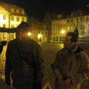 Gerd und ein Passant
