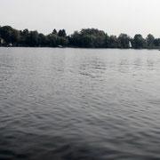Blick über den Glindower See