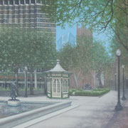 """RITTENHOUSE"" Oil on canvas, 60"" X 48"", 2007. Private Commission."