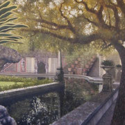 """VIZCAYA"" Oil on canvas, 36"" X 48"", 2011."