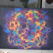 """ENERGY"" In front of the Milou Gallery in the Wynwood Art District, Miami FL,  2008."