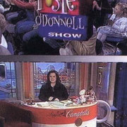 "The ""ROSIE O`DONNEL SHOW""  Designer, Scenic Artist, Sculptor. Designed, Sculpted and Painted the Campbells Soup Cup Desk. 2001"