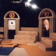 """PURE INFOMERCIAL"" Set Designer, Carpenter, Scenic Artist. 1999"