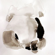 Betamorphose / 2008 / crayon et encre / 25 x 22 cm