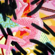 Chute (1) / 2006 / Acrylique / 65 x 50 cm
