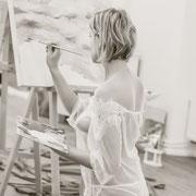 sensual art nude art painting female artist wall art body art online shop  sensual paintings lingerie support