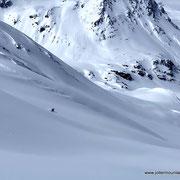 Photo: Matthias / Skier: Stefan Joller / Location:  Scalettahorn, Davos
