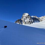 Photo: Matthias / Location:  Piz Kesch, Bündner Haute Route, Switzerland
