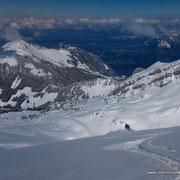 Photo: Matthias  / Skier: Stefan Joller / Location:  Glatt Gratt, Engelbergertal, Switzerland