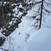 Photo:  Stefan Joller / Skier: Philipp / Location: Tessin, Bosco Gurin, Switzerland