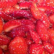 confitures de fraise maison d'hôtes La Parenthèse