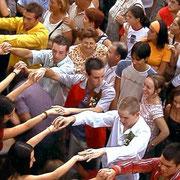 """Baile típico de """"La Enramá"""""""