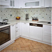 Oberflachenstruktur: Avana Deluxe, Farbe: Honig, Kantenbearbeitung: gerundet, Rechteck: 30x15 cm