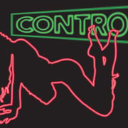 "Control 38""x26""x3.25"" backlit sign 2011"