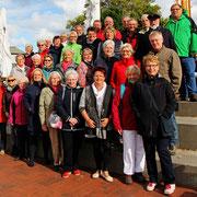 Chorwochenende vom 7. - 9. Oktober 2016 in Damp, Gruppenfoto von links
