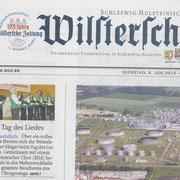 Tag des Liedes 2015, Gastchor: Nordhastedter Liedertafel von 1864