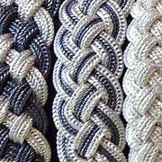 Flechtarmbänder aus 925 Sterling Silber in diversen Flechtmustern von i-must-have.it