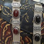 Silber Agraffen Armbänder mit Onyx Achat. i-must-have.it