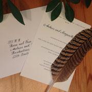 Einladungsbeschriftung und Kuverts für A.E. Köchert Juweliere