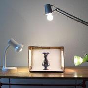 6. Dann noch mit drei Lampen ausleuchten - und schon kann es losgehen!