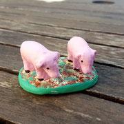 2 cochons 7,00 euros