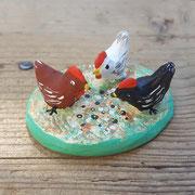 3 poules 7,00 euros