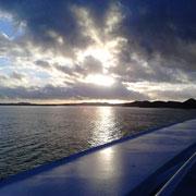 Sonnenaufgang über ANtigua