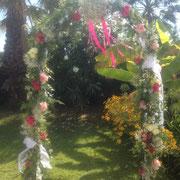 arche florale au Clos Cibonne au Pradet