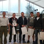 2. Platz Herren Team Bacardi