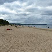 Strand von Zoppot