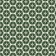 Alligator Medallion forest green
