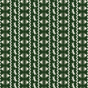 Seminole Motif Ric Rac Dragonfly Stripe forest green